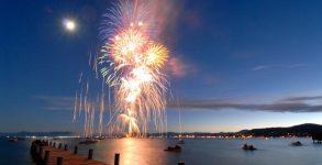 Capodanno lago d'Iseo 2020